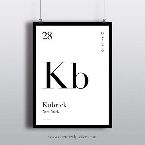 Kubrick poster