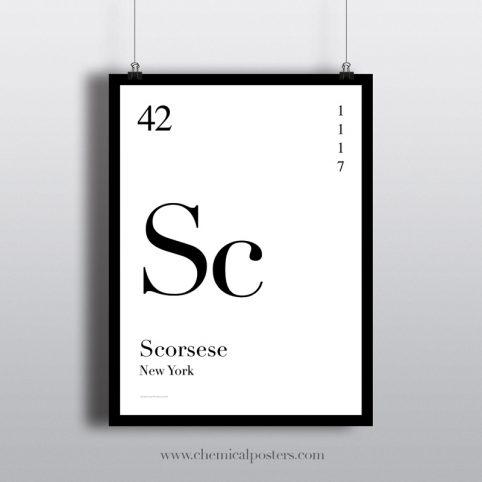 Scorsese Poster