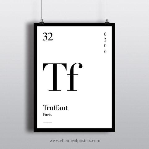 Truffaut Poster